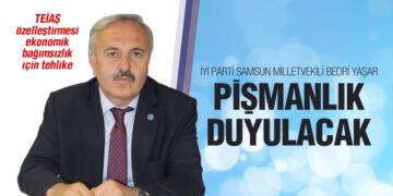 Milletvekili Bedri Yaşar, 'Teiaş Özelleştirmesi Ulusal Güvenlik İçin Tehdit'