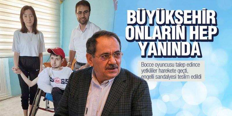 Bocce oyuncusu talep edince Samsun Büyükşehir harekete geçti