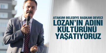 Atakum'da Lozan Park ve Lozan Anıtı Açıldı