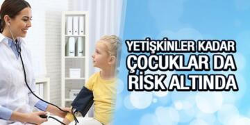 Çocuklarda Hipertansiyon Tehlikesi