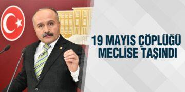 İYİ Partili Usta'dan Mera Alanına Çöp Döken 19 Mayıs Belediyesi İçin Soru Önergesi