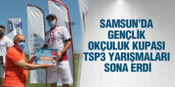 Samsun'da Gençlik Okçuluk Kupası TSP3 Yarışmaları Sona Erdi