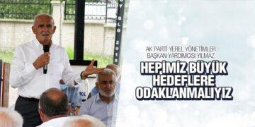 Yılmaz Tekkeköy İlçe Danışma Toplantısına katıldı