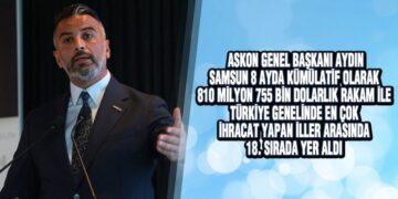 ASKON Başkanı Aydın, 'Faizsiz Modeller Üzerine Yoğun Bir Mesaiye Gireceğiz'