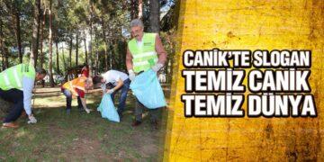 Canik'te 'Temizlik Günü'