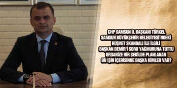 CHP İl Başkanı Türkel'den Başkan Demir'e Rüşvet Sorusu