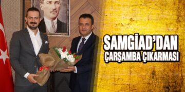 SAMGİAD'dan Çarşamba Çıkarması