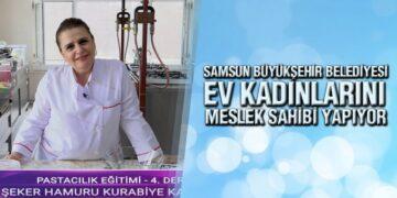 Samsun Büyükşehir'in KEP Projesi Meslek Sahibi Yapıyor