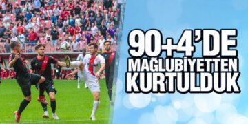 Yılport Samsunspor – Gençlerbirliği : 2 – 2