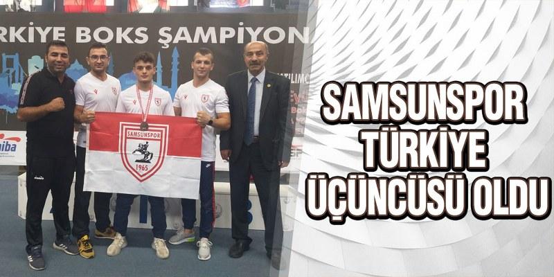 Samsunspor Türkiye Üçüncüsü Oldu