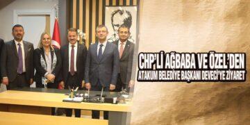 Ağbaba ve Özel'den Başkan Deveci'ye Ziyaret