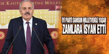 İYİ Parti'li Yaşar, 'Faturalar Vergi Tahsilat Makbuzuna Döndü'