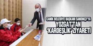 Başkan Sandıkçı'ya Yozgat'tan 'Kardeşlik' Ziyareti