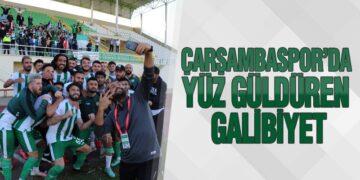 Çarşambaspor'da Yüz Güldüren Galibiyet