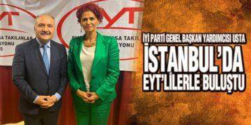 Usta İstanbul'da EYT'lilerle Buluştu