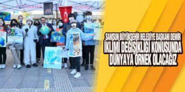 Samsun Büyükşehir'den İklim Değişikliği Etkinliği