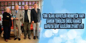 Emekli Albay Kabakçı'dan Anlamlı Ziyaret