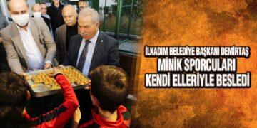 Başkan Demirtaş'ın Amatörspor Kulüplerine Ziyaretleri Hız Kesmiyor