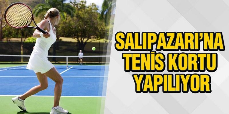 Başkan Akgül: 'Salıpazarı'na Donanımlı Tenis Kortu Yaptırıyoruz'