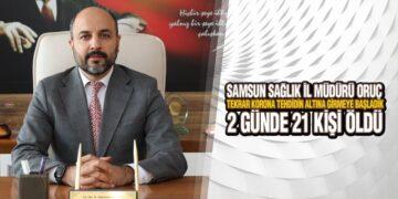 Samsun'da 2 Günde 21 Kişi Öldü