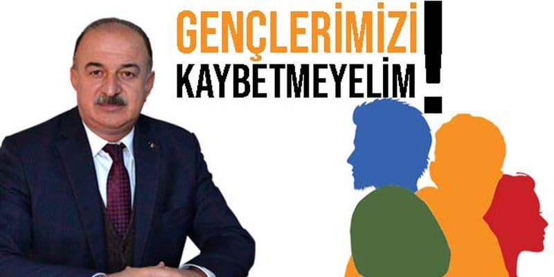 Başkan Özdemir, 'Gençlerimizi Kaybetmeyelim'